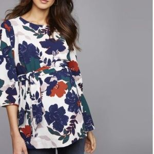 Pea in the Pod Floral Top